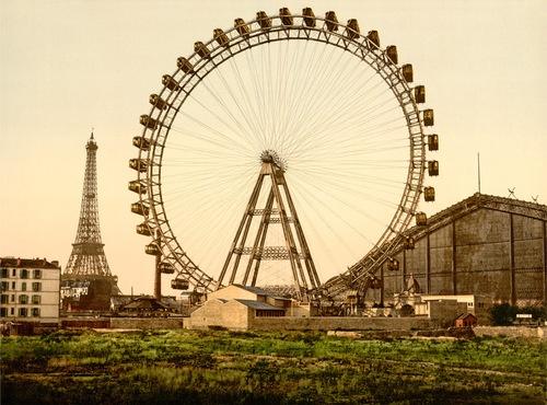 La Grande Roue de Paris, 1900, by  20x200 Artist Fund - 20x200