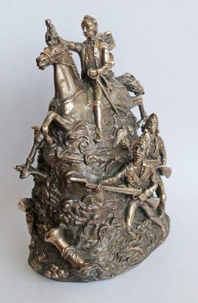 Alexander Suvorov Bronze Bell 15 cm  Колокольчики отлитые в Украине