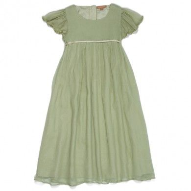 Emma Dress - Sage Green - Flower Girl Dresses - Flower Girls