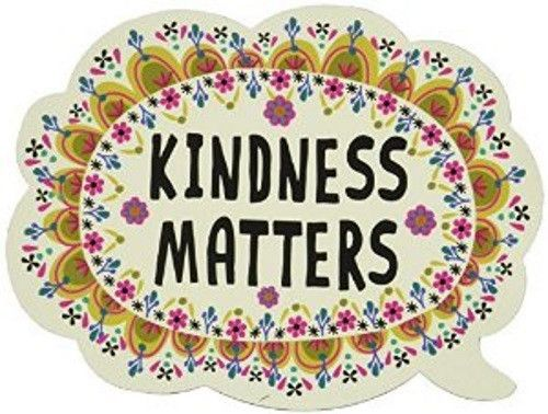 Natural Life Car Magnet- Kindness Matters Bubble