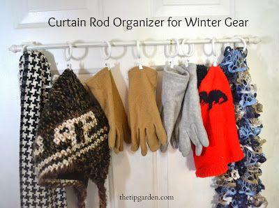 TIP GARDEN: Winter Gear Organizer/Storage