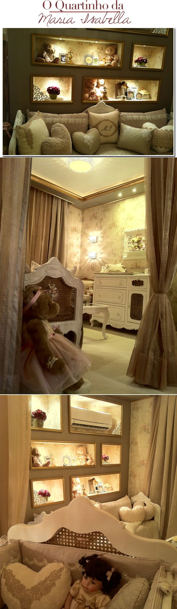 bedroom for baby...pretty