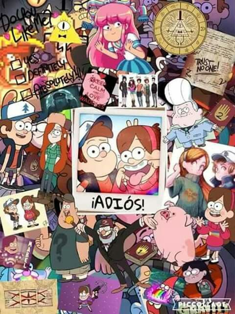 Gravity falls Oh god here come the waterworks