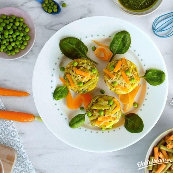 Mini Muffinki z warzywami