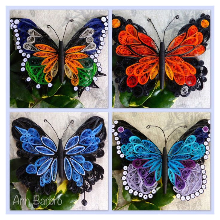 Quilling butterflies                                                                                                                                                     More