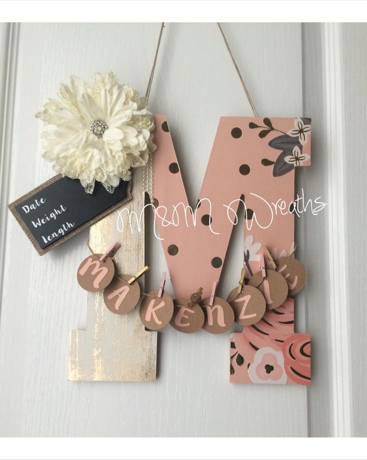 Best 25 baby door hangers ideas on pinterest baby door for Baby hospital room decoration