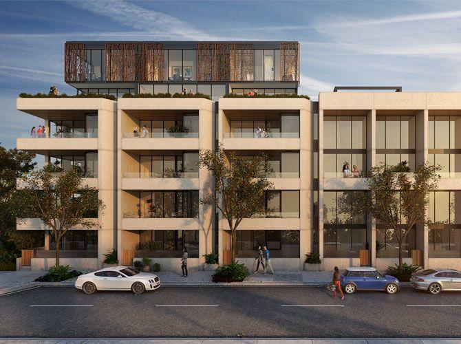 Azure Apartments Kingston Foreshore - Stewart Architecture