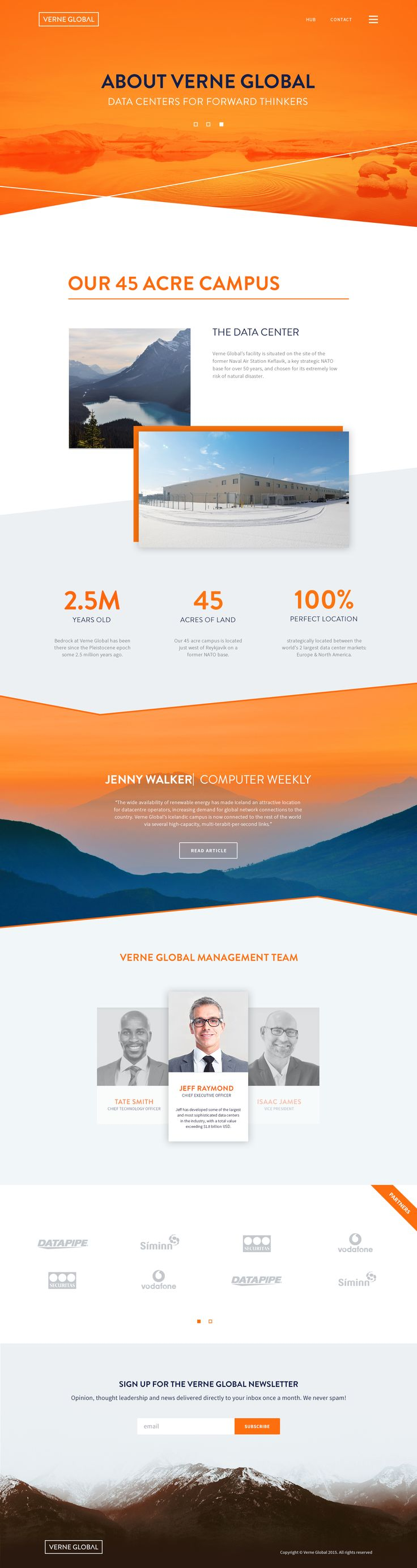 Verne global web design about                                                                                                                                                                                 More