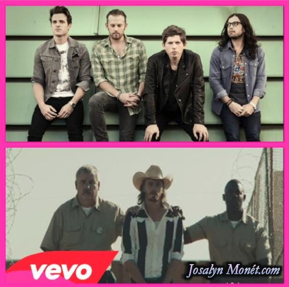 """Kings of Leon & Garrett Hedlund Are Cowboys In Their """"Beautiful War' Western Themed Video! Watch Here!"""