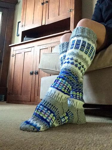 Ravelry: Damaged73's Anelmaiset Socks