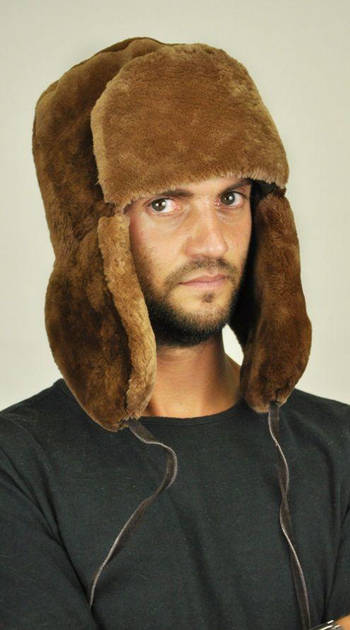 Cappello in castoro canadese con copriorecchie. http://www.amifur.com