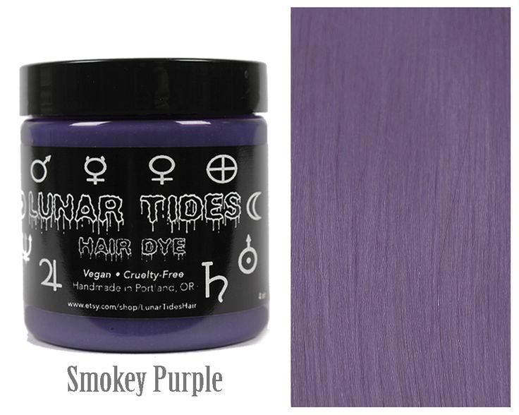 Smokey Purple Grey Hair Dye