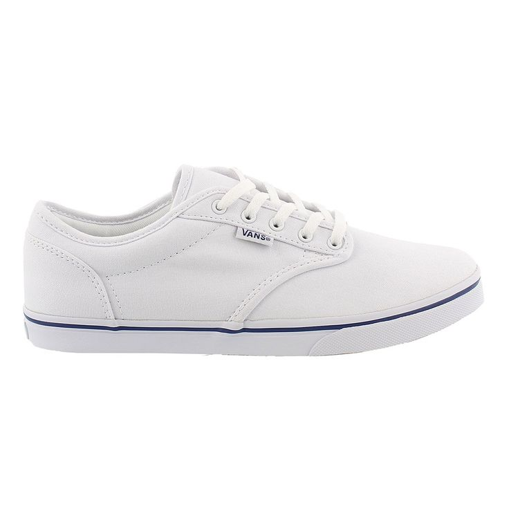 Women's ATWOOD LOW white lace up sneakers | Sneakers, Lace