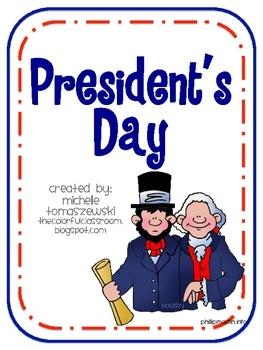 President's Day Printables *freebie*
