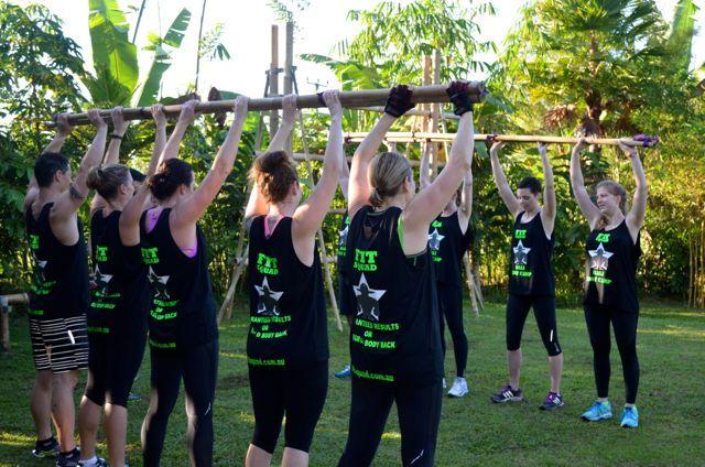 Triumphant bamboo lifts!