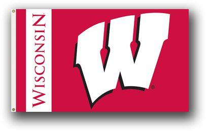 NCAA Wisconsin Badgers 3 Ft. X 5 Ft. Flag W/Grommets