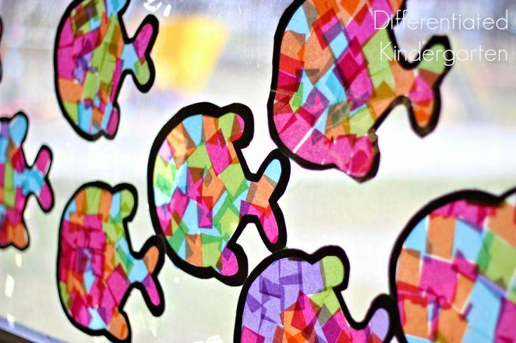 A Differentiated Kindergarten: O'Fish-ally Fun Craft