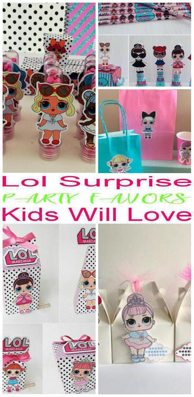 9 LOL Überraschungsparty Gefälligkeiten! Die coolsten Partybevorzugungsideen f… – LoL Dolls