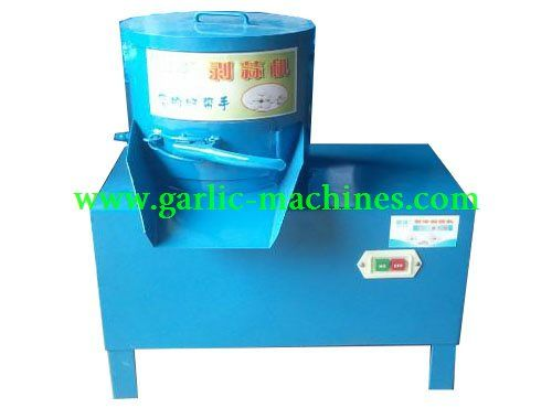 The Garlic peeling machine output capacity is 50 kg/h.and the  machine working voltage is 220V which is normal voltage in home,not 380V.It is widely used in home working.
