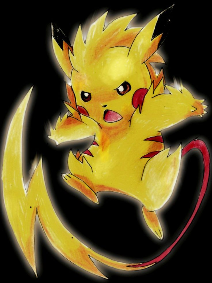 Best 25+ Pikachu evolution ideas on Pinterest | Evolutions of ...