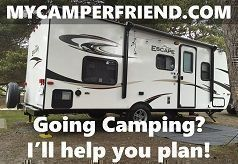 MyCamperFriend.com offers the best Camping Advice for Newbies and experienced Campers. Everything a RV or Tent Camper needs for a stress-free Camping Trip: Camping Accessories, RV Accessories, Camping Gear, Camping Equipment, RV Parts, Camping Tips, RV Ti #tentcamping #campingaccessories #campingtips #rvaccessories #campinggear #campertips