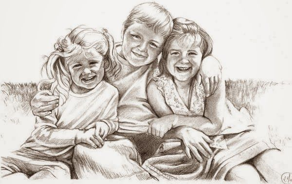 Siblings, graphite