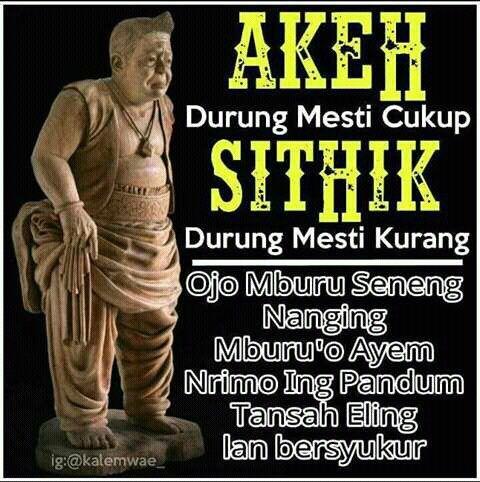 Kata Kata Jawa Kuno Semar