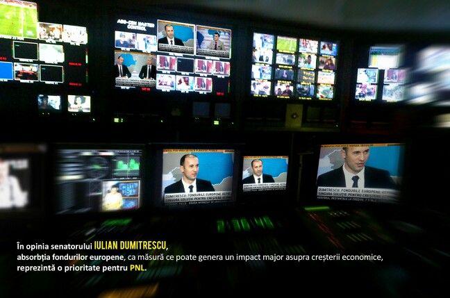 """Buna dimineata!  Sambata, 27 Octombrie, am fost invitatul emisiunii """" CAPITAL TV"""", alaturi de mine in studioul televiziunii B1, fiind prezent si domnul Eugen Teodorovici, Ministrul Fondurilor Europene.   Mai jos, va prezint transcriptul declaratiilor mele facute cu aceasta ocazie:    Moderator / Claudiu Serban / > Domnule Iulian Dumitrescu, ce masuri se au in vedere pentru stimularea cresterii economice?  Iulian Dumitrescu > Vorbind despre măsurile de creștere economică, acestea ar putea fi…"""