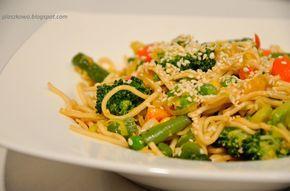 płaszkowo: Smażony chiński makaron z warzywami