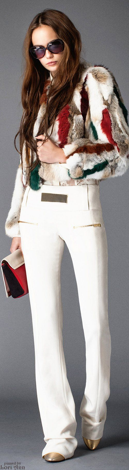 Just Cavalli Pre-Fall 2015 women fashion outfit clothing style apparel @roressclothes closet ideas