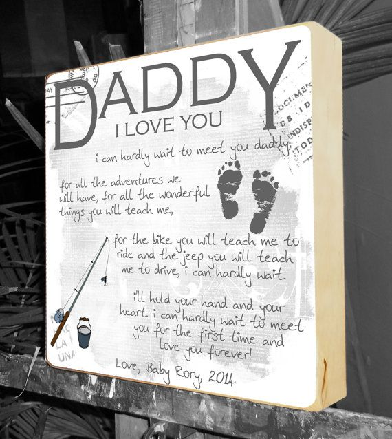 Baby Gift Ideas For Dad : Fathers day gift gifts for dad to be new daddy
