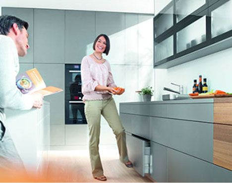 Blum - Practical cabinets solutions for for the sink cabinet