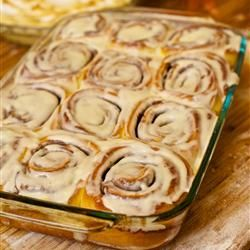 """Clone of a Cinnanbon   """"I can finally stop looking for the perfect Cinnamon Roll recipe! These are so good! I followed other reviews & baked at 350 for about 25 minutes. I also doubled the frosting."""" -Wendy_June"""