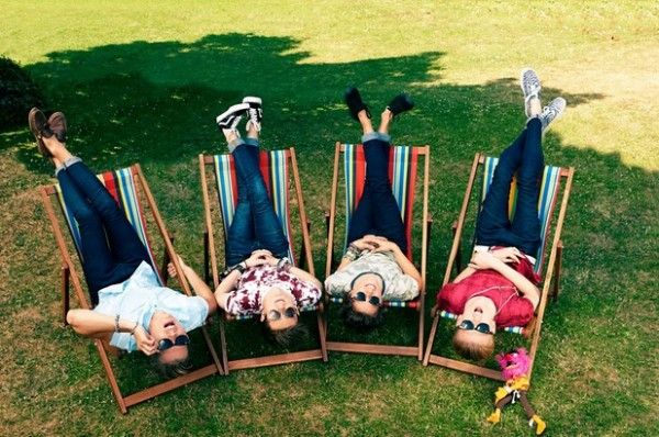 The Vamps! Connor, James, Tristan,  Bradley!