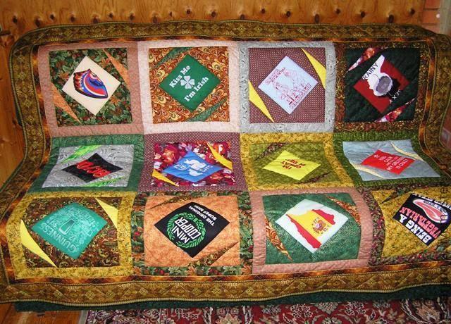"""Лоскутное стеганое одеяло """"Ирландия""""(пэчворк,стежка,ткани). - лоскутное одеяло"""