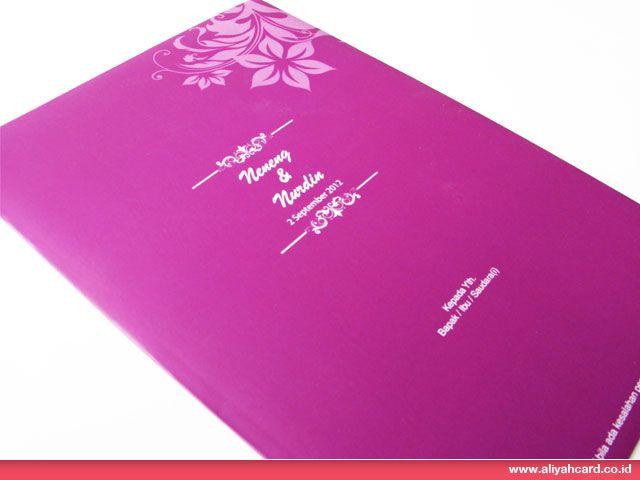 Simple Purple Envelope (AC024)