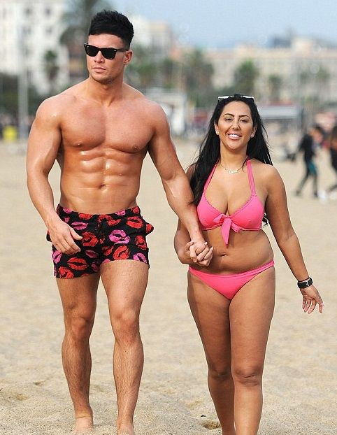 Geordie Shore's Sophie Kasaei Slips Into Hot Pink Bikini As She Packs On The PDA With Beau