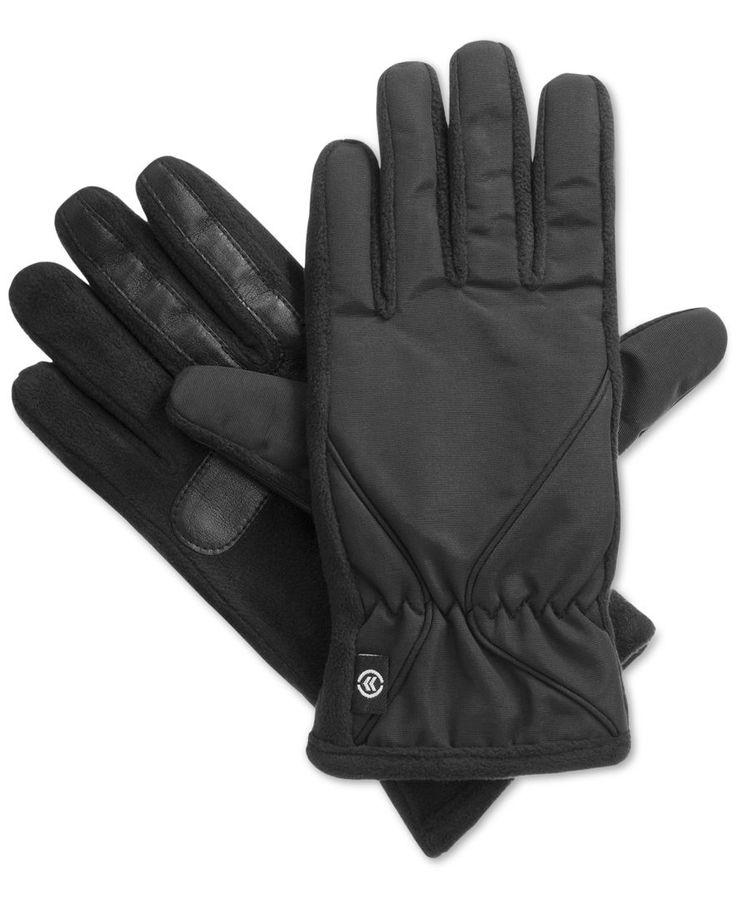 Isotoner Signature Tessa Nylon Thermaflex Core Tech Touch Gloves