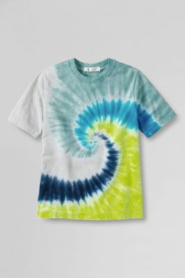 Boys' Short Sleeve Tie Dye T-shirt from Lands' End