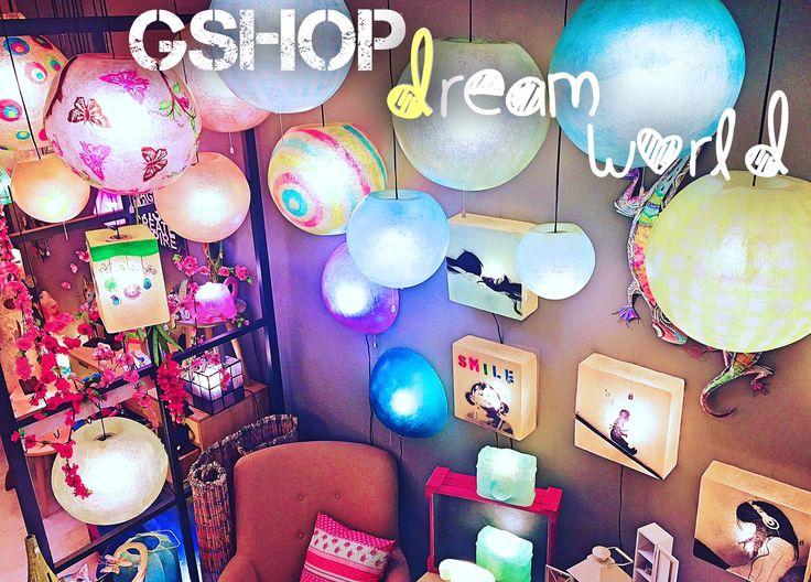 Our dream world! Fiberglass lighting and more <3