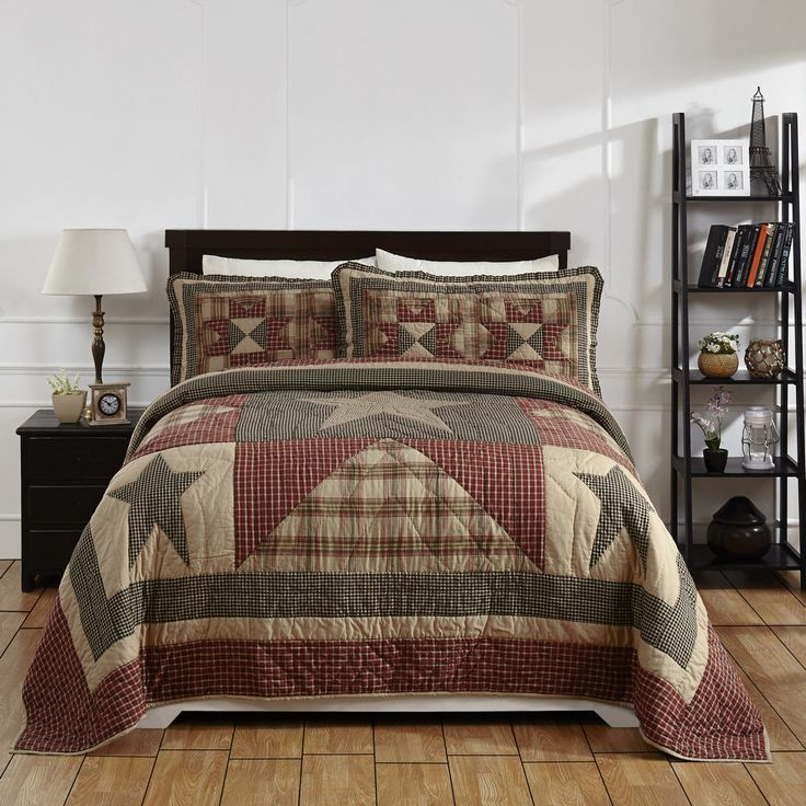 PLYMOUTH Quilted Bedding Set - 3pc. King Our hand quilted