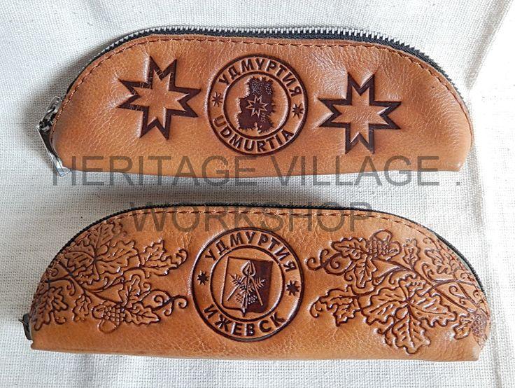 Кожаный очечник или  может даже просто пенал .... #удмуртия , #ижевск , #udmurtia , #izhevsk , #leathercraft , #футляр , #кожаный_футляр , #сувениры_удмуртии