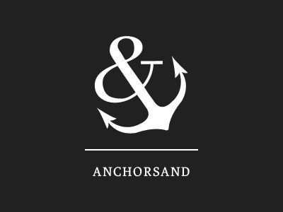 Image result for ampersand anchor meaning