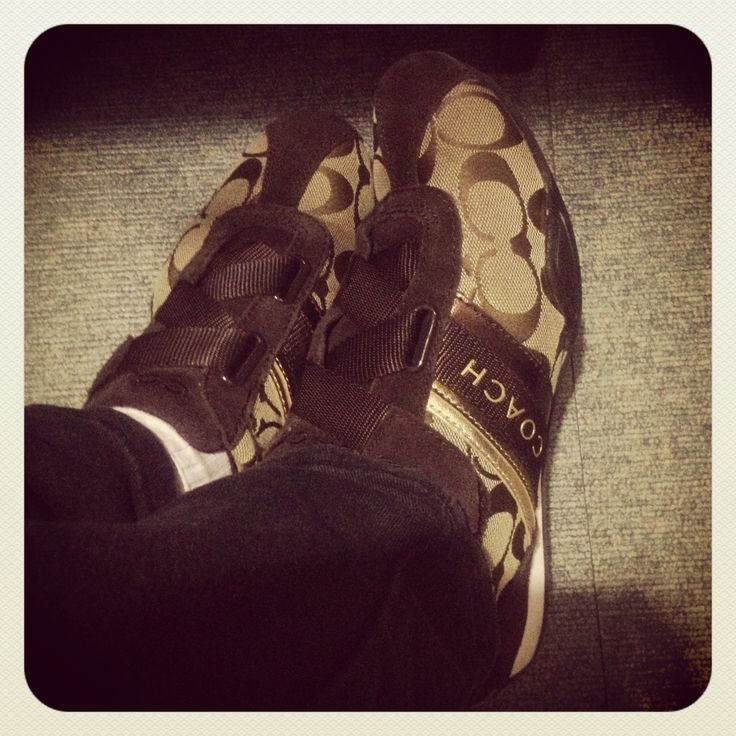 "My Coach ""sneaker"" shoes..."