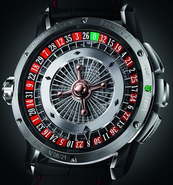 Christophe Claret 21 Blackjack Watch  Backside