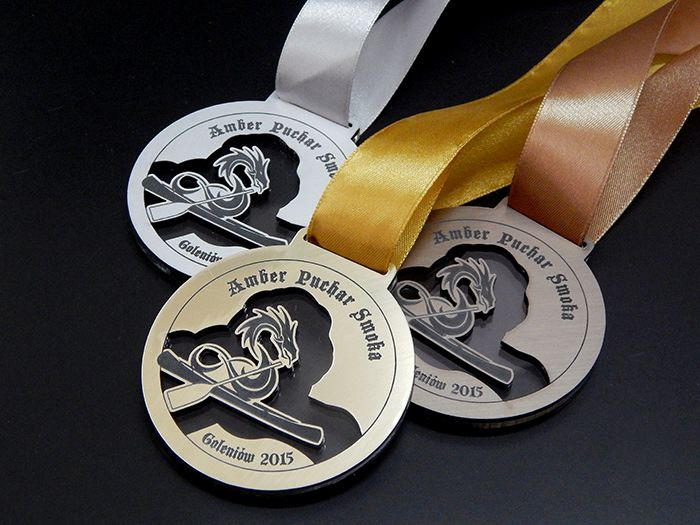 Sport medals - Amber Dragon Cup Medals laminate engraving in bronze , silver and…