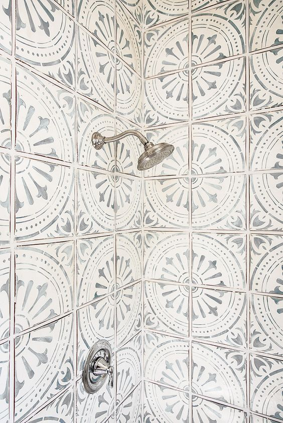 How Choose The Best Patterned Tile For Your Home Tiles Patterns Beautiful Bathrooms