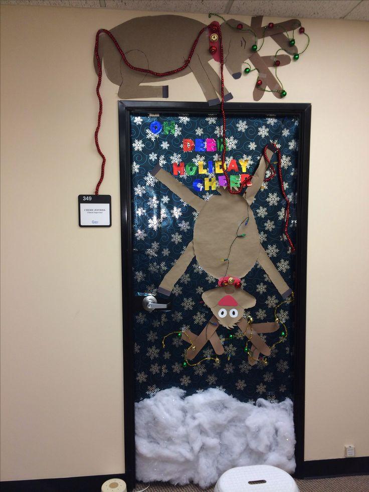 Christmas Door Decoration Christmas Christmas