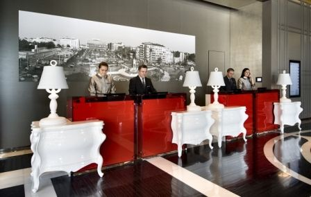 adammurray hotel reception desk ideas