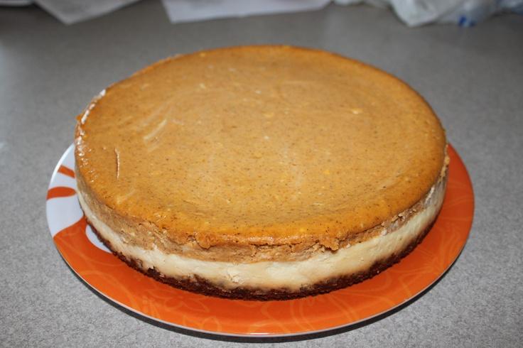 Layered Pumpkin Cheesecake | Recipe | Pumpkin Cheesecake, Cheesecake ...